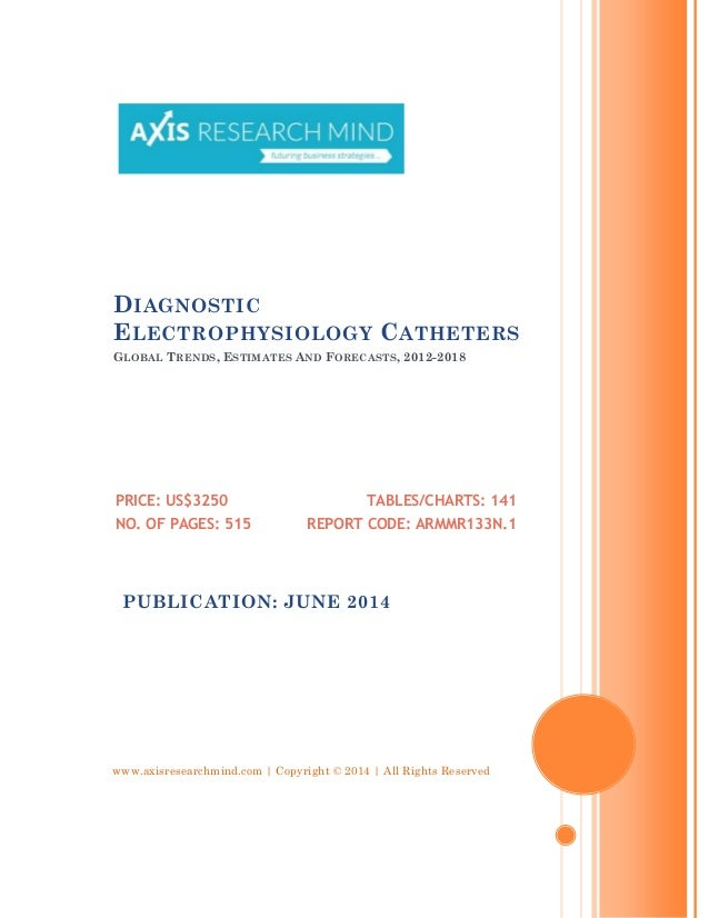 www.axisresearchmind.com | Copyright © 2014 | All Rights Reserved DIAGNOSTIC ELECTROPHYSIOLOGY CATHETERS GLOBAL TRENDS, ES...