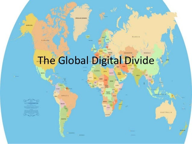 The State of Digital Divides (video & slides)