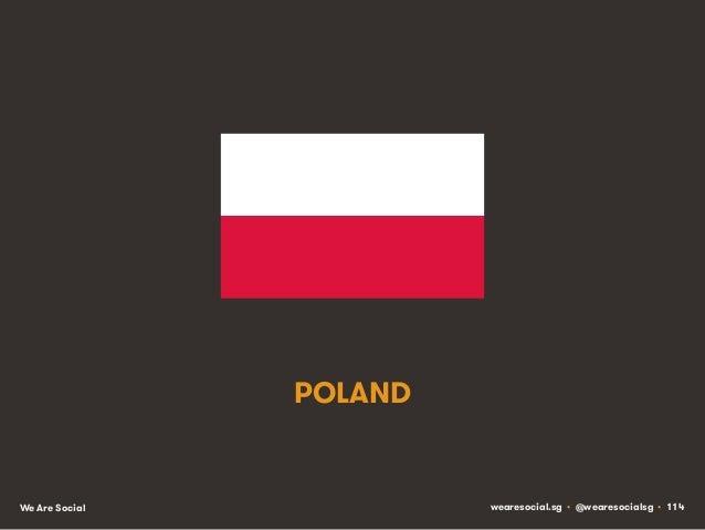 POLAND  We Are Social  wearesocial.sg • @wearesocialsg • 114