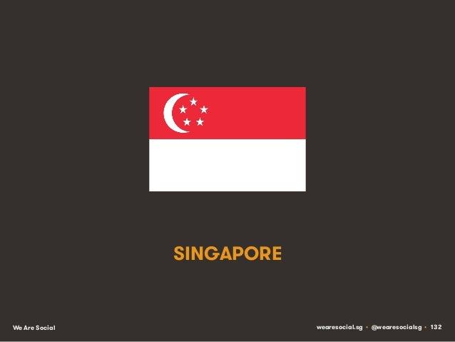 SINGAPORE  We Are Social  wearesocial.sg • @wearesocialsg • 132