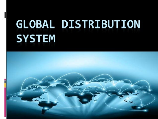 Global distribution systems: company revenues 2017
