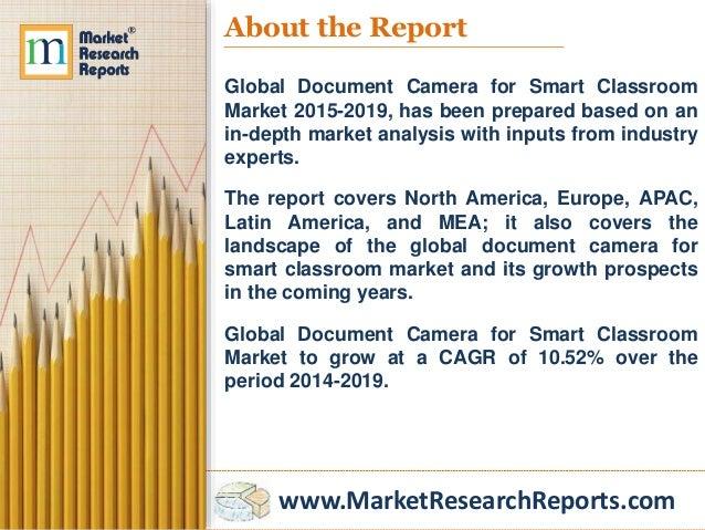 Global smart classroom market essay