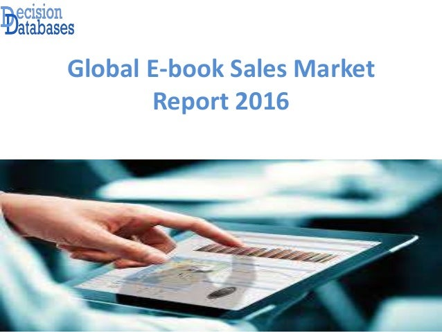Global E-book Sales Market Report 2016