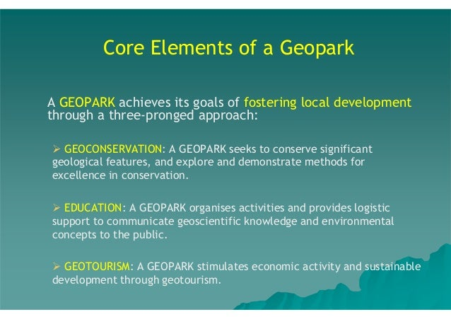 Take-Aways  3.  Australia's National Landscapes and geoparks are key places where geotourism is centre stage.  4.  Austral...