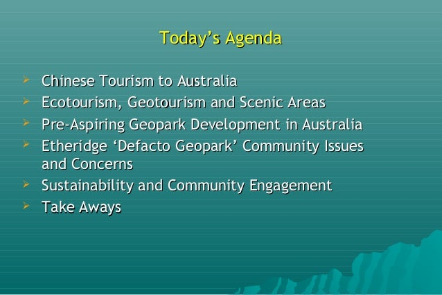 Geotourism, Ecotourism and Regional Development - Challenges and Opportunities Slide 2