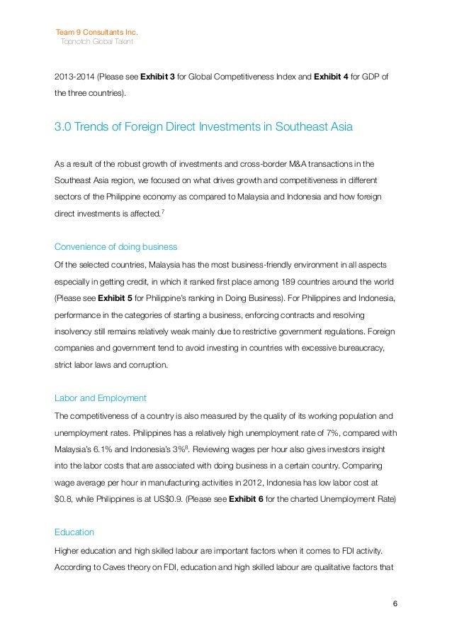 thesis on attracting direct foreign investment Master's thesis the impact of the country's image on attracting foreign direct investment: foreign direct investment.