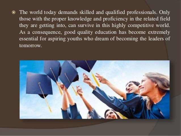 Global education - an exceptional learning experience Slide 2