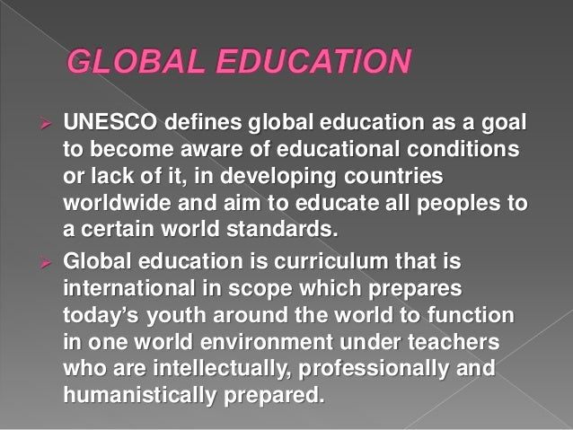 how to become a global teacher