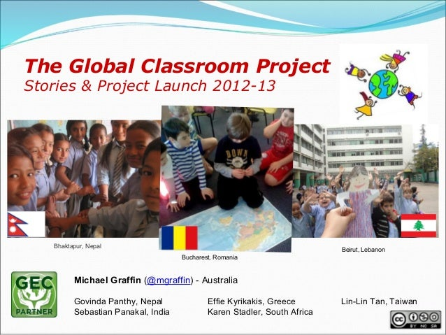 The Global Classroom ProjectStories & Project Launch 2012-13   Bhaktapur, Nepal                                           ...