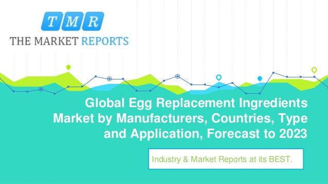 Global Egg Replacement Ingredients Market by Types