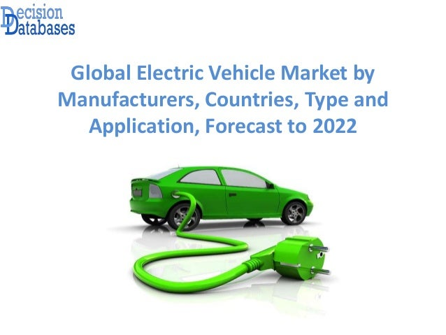 Global Electric Vehicle Market by Manufacturers, Countries, Type and Application, Forecast to 2022