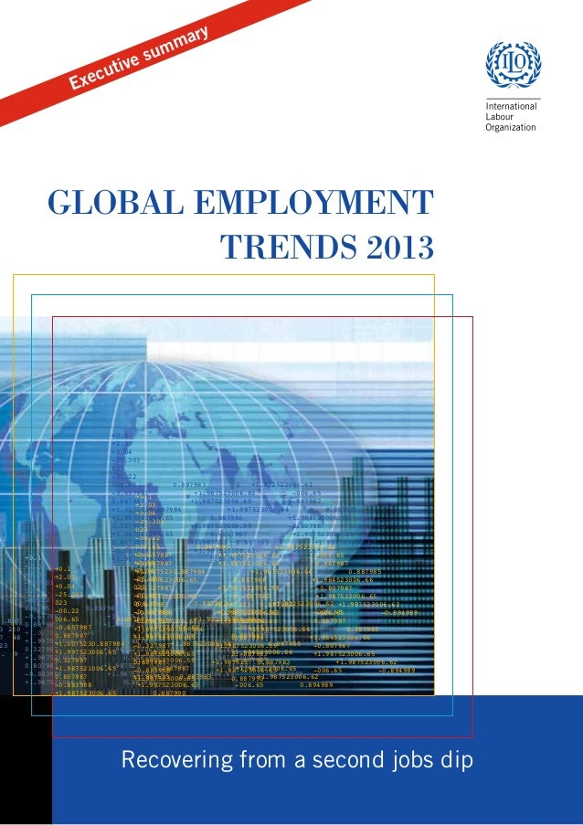 u  s tive u  y  ar mm  c  Exe  The annual Global Employment Trends assesses economic and social developments in global and...