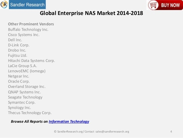 global consumer nas market Order a purchase report copy of global consumer network attached storage ( nas) market size, status and forecast 2018-2025 at market research nest.