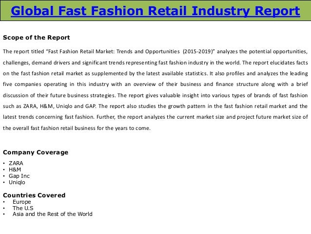 fashion retail industry Fashion has come a long way in 20 years, as the rise of online and asian  manufacturing drove significant change rebecca thomson charts.