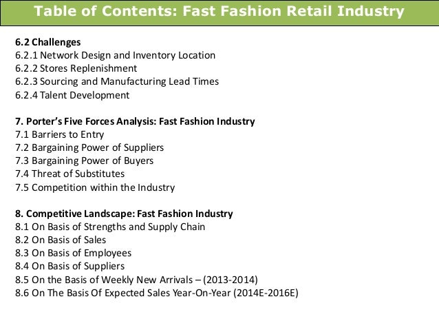 Fashion and retail industry 29