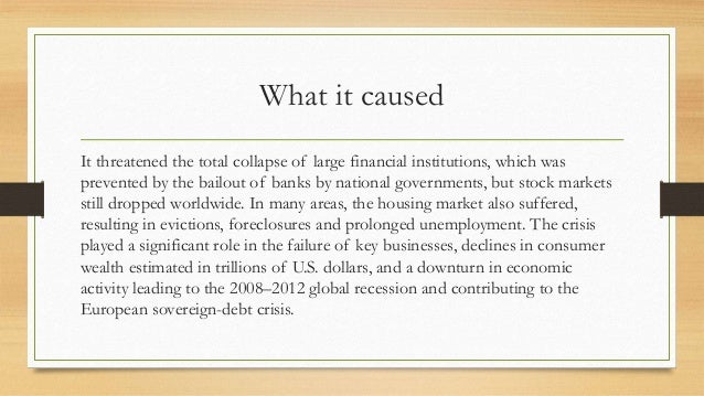 """""""global financial crisis 2007 2012 The global financial crisis that erupted in 2008 and its long-standing effects have  evidenced a  2004 2005 2006 2007 2008 2009 2010 2011 2012 2013 2014."""