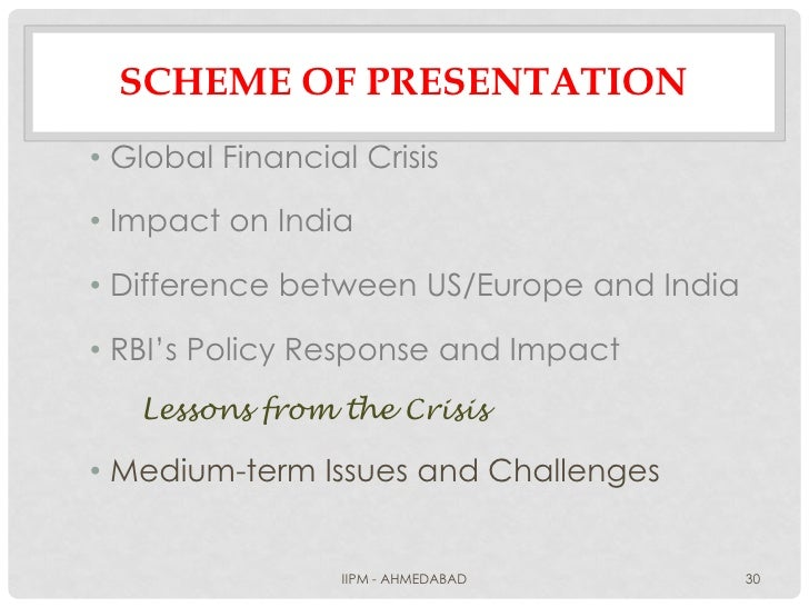 effect of global financial crisis on Impact of the global financial crisis on asian economies: some mood music 21 before the crisis to now: behavior of some key economic variables.