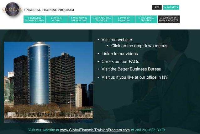 Global Financial Training Program Review