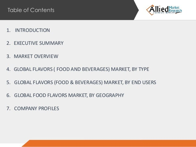 food flavors market trends forecast Food & beverage market research reports & industry  our food and beverage reports include data on culinary trends in flavors,  food flavors market by type.