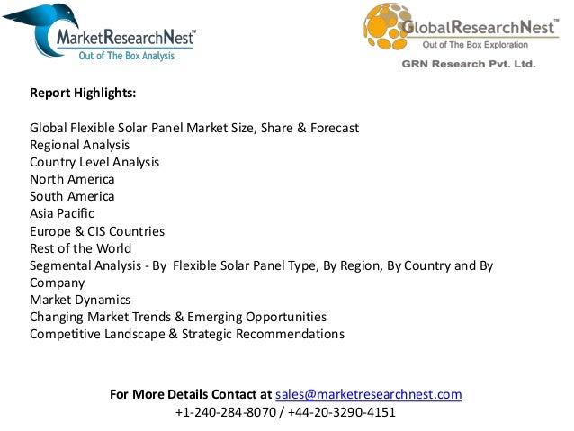 Global Flexible Solar Panel Market Research Report 2017