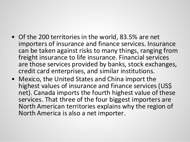 Global flows - economy and finance
