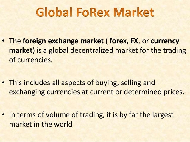 Worldwide markets forex review