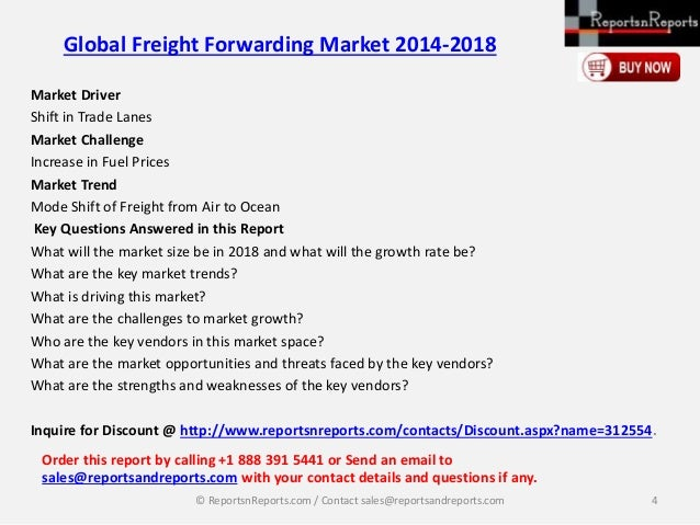 Top 50 Air Freight Forwarders 2018