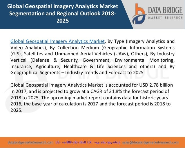global geospatial imagery analytics market industry trends and forec