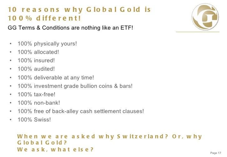 Goldhandel Ausgesetzt