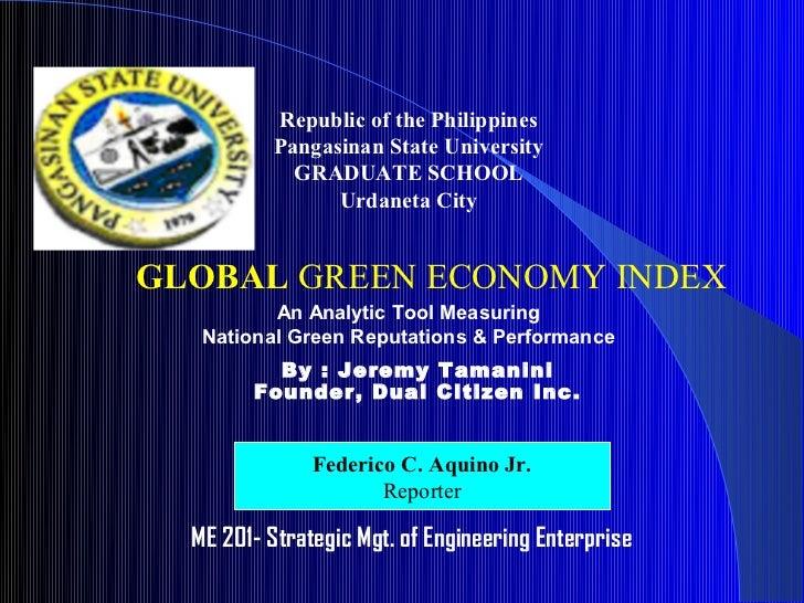 Republic of the Philippines          Pangasinan State University            GRADUATE SCHOOL                Urdaneta CityGL...