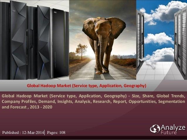 Global Hadoop Market (Service type, Application, Geography) Global Hadoop Market (Service type, Application, Geography) - ...