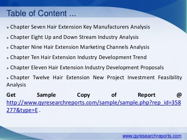 Global hair extension market 2015 industry analysis research growth hair extension productions supply sales demand market status and forecast qyresearchreports 5 pmusecretfo Gallery