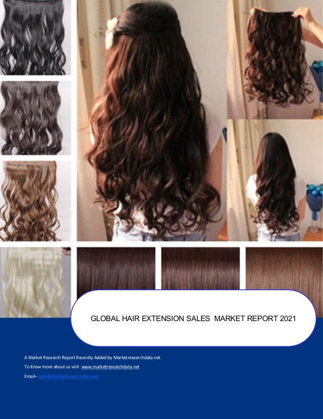 Global Hair Extension Sales Market Report 2020