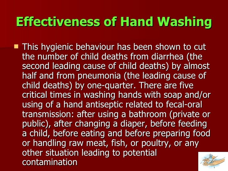 Global hand washing day for Diarrhea after eating fish