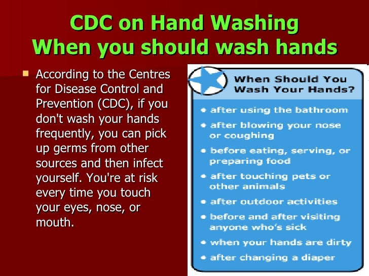 When amp How to Wash Your Hands  Handwashing  CDC