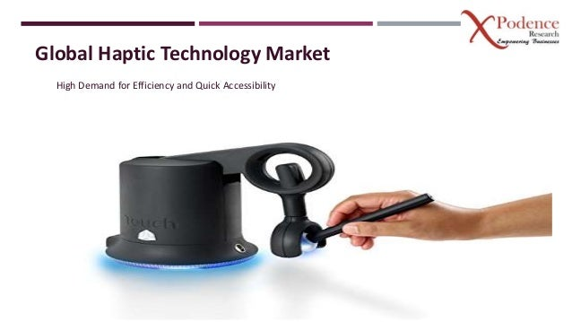 Global Haptic Technology Market High Demand for Efficiency and Quick Accessibility