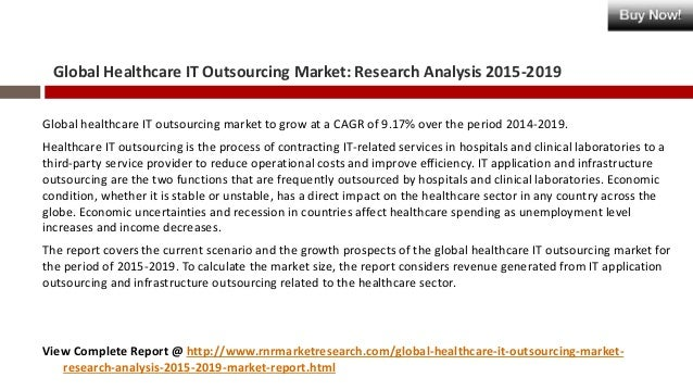 global it outsourcing market It outsourcing market - global analysis, regional market share, growth, trends, forecast, global it outsourcing market outlook (2015-2022.