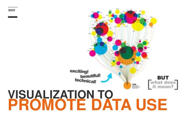 VISUALIZATION TO PROMOTE DATA USE WHY