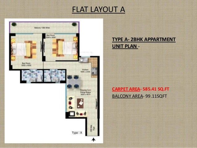 FLAT LAYOUT A TYPE A- 2BHK APPARTMENT UNIT PLAN - PLANNERS GROUP ARCHITECTS I PLANNERS I DESIGNERS I ENGINEERS CARPET AREA...