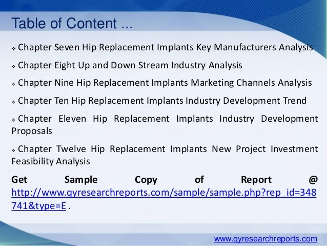 hip replacement implants market global Medipoint: hip and knee reconstruction – global analysis and market forecasts   revenue growth is dwindling in the global large joint reconstruction space.
