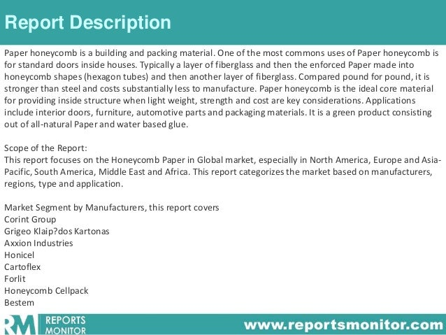 market research paper industry The market research industry has grown steadily over the last five years, but new innovations could rapidly increase potential revenue in the future.
