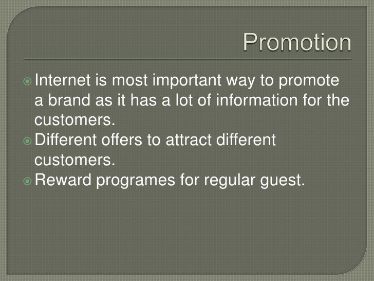4p marketing about hilton hotels Essays - largest database of quality sample essays and research papers on 4p marketing about hilton hotels.