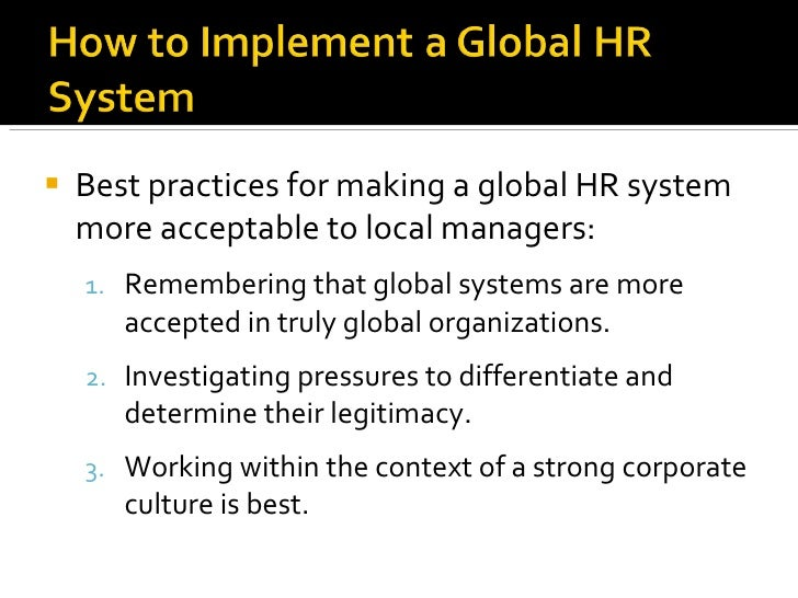 global hr practices essay Global essay writers  five-year global workforce forecast  how will hr practices change staffing, rewarding, employee relations,.