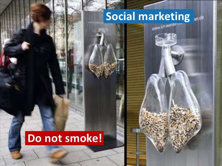 Social marketingDo not smoke!                                   3