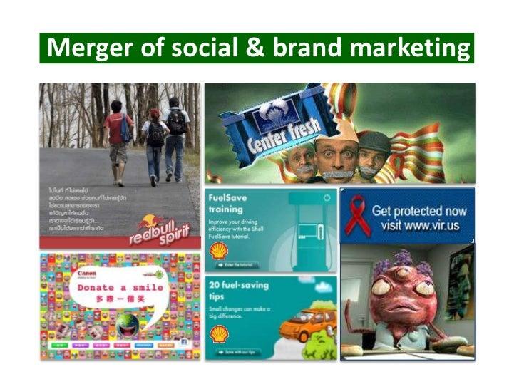 Merger of social & brand marketing