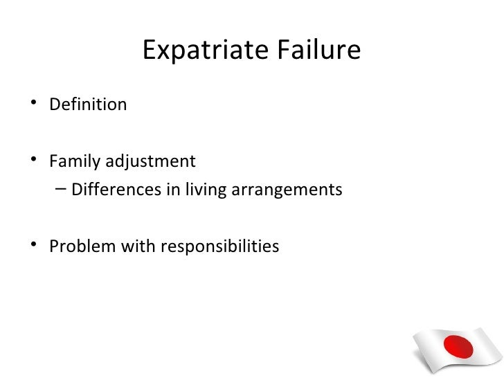 expatriate inability definition