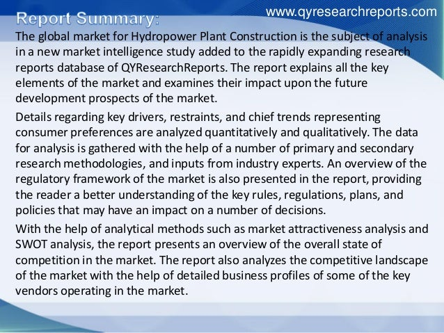 china hydropower market growth and forecast - identify top growth and investment opportunities in china hydropower market - facilitate decision-making based on strong historic and forecast data for hydropower market - position yourself to gain the maximum advantage of the industry's growth potential.