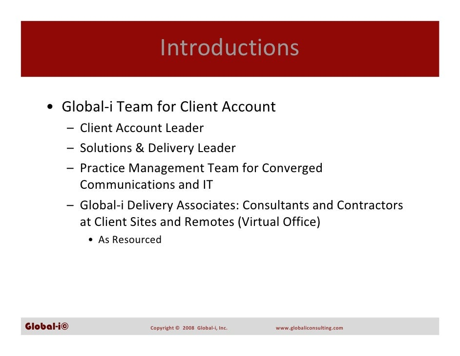 Global-i Capabilities Presentation Slide 3