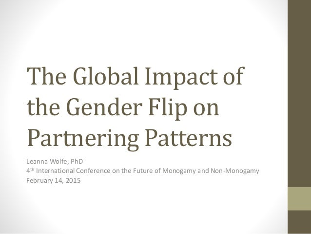 The Global Impact of the Gender Flip on Partnering Patterns Leanna Wolfe, PhD 4th International Conference on the Future o...