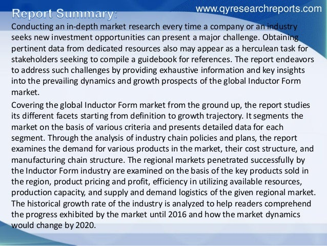 Global inductor form consumption 2016 market research report Slide 2